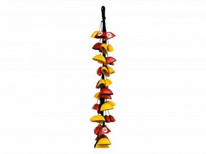 MEINL BIRDS FIBERGLASS RED/YELLOW