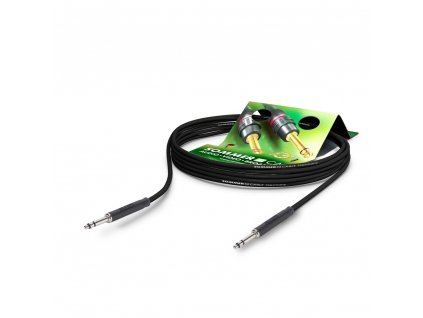 Sommer Cable PC Goblin 2x0,14qmm, Black, 0,25m