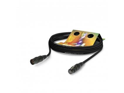 Sommer Cable Hybrid Kabel Kolorith Mini,Black, 10,00m