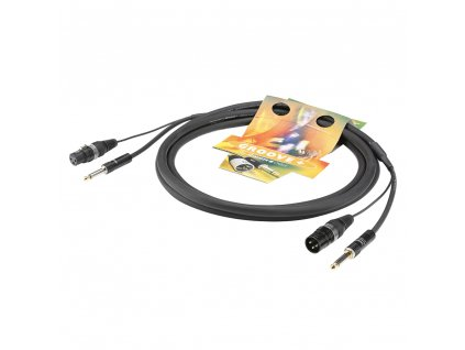 Sommer Cable AYJ7; XLR + Jack / XLR + Jack; 9m