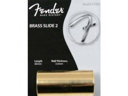 Fender Brass Slide 2 Fat Large