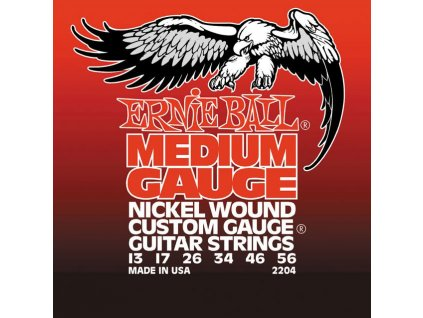 Ernie Ball Medium Nickel Wound w/ wound G Electric Guitar Strings