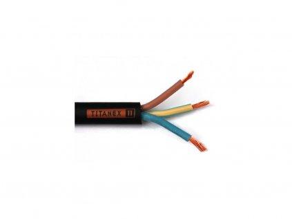 Titanex kábel H07RN-F 3G x 1 mm