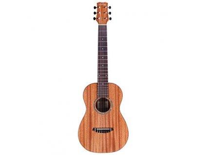 Cordoba MINI II guitar Flamed mahagony