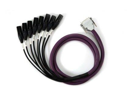 Mytek 8Ch. DB25 - MXLR High Performance Analog Output Snake 6 FT