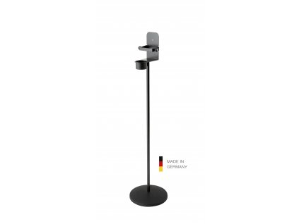 K&M 80310 Disinfectant stand with bracket Black