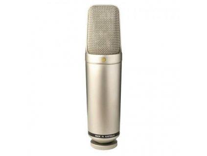 """Rode NT1000 1""""Mikrofon, kožené pouzdro"""