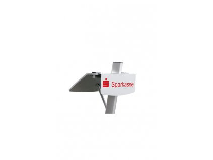 K&M 12383 Promotional board (excl. Logo) silver