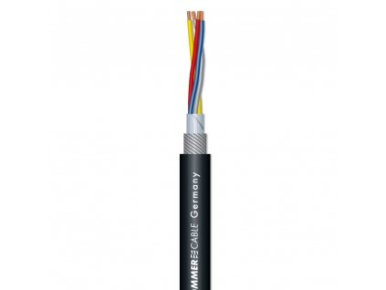 Sommer Cable SC-SQUARE 4-CORE Microphone Cable /Black