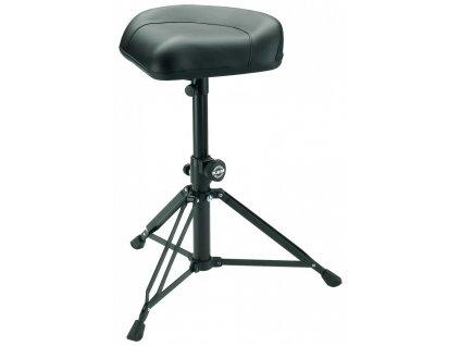K&M 14055 Drummer's throne »Nick« black leather