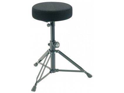 K&M 14016 Drummer's throne black fabric
