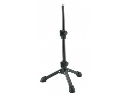 """K&M 23150 Tabletop microphone stand black 3/8"""""""