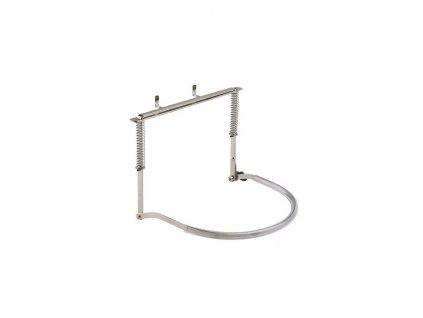 K&M 164/1 Harmonica holder nickel-colored