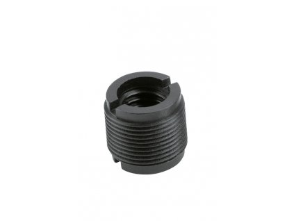 K&M 85040 Thread adapter black