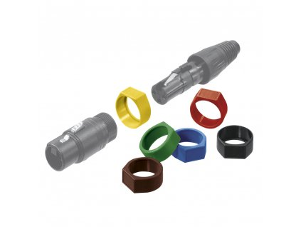 NEUTRIK XLR Coding Ring Green