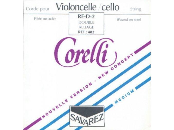 Corelli Strings For Cello Steel 481
