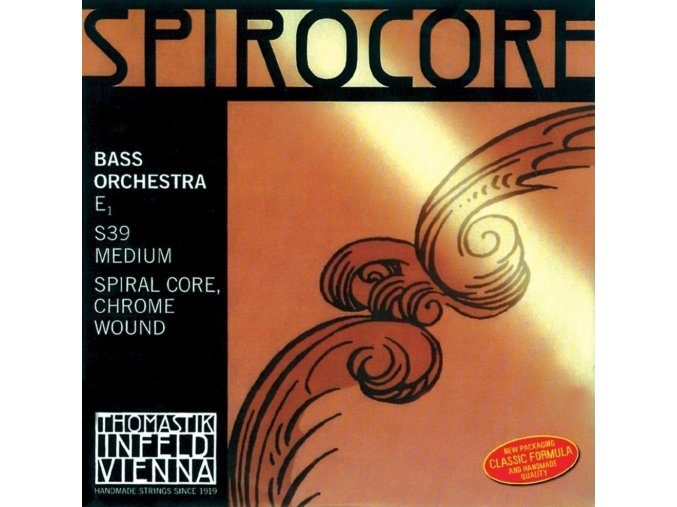 Thomastik Strings For Double Bass Spirocore spiral core Soft