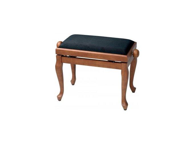 GEWA Piano bench GEWA Piano Deluxe Classic Cherry matt Black cover