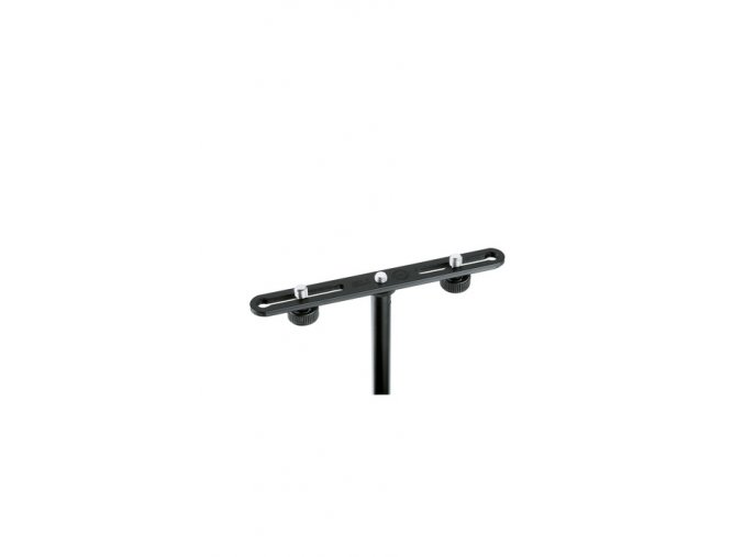 K&M 23550 Microphone bar black