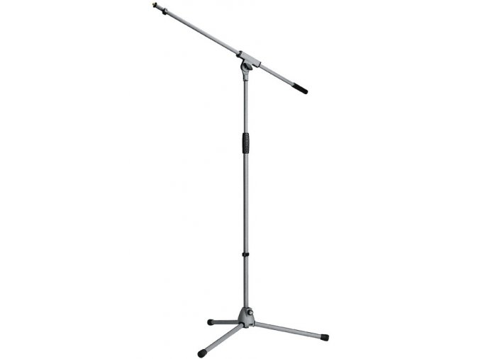 K&M 21060 Microphone stand »Soft-Touch« gray