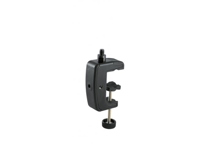 K&M 23720 Table clamp black 3/8""