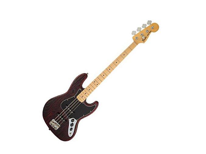 Fender LTD ED SNDBLST J BAS MN CRMSTN