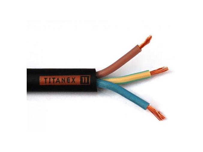 Titanex kábel H07RN-F 3G x 1,5 mm