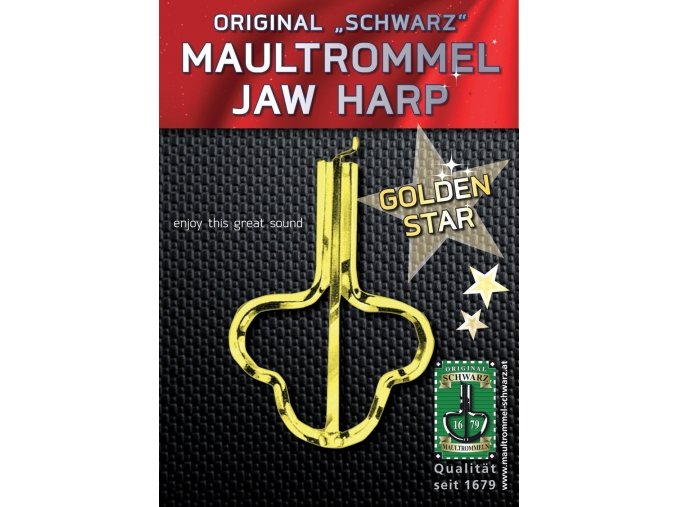 Orig. Schwarz Jew's-harp Golden Star 82mm, No. 15