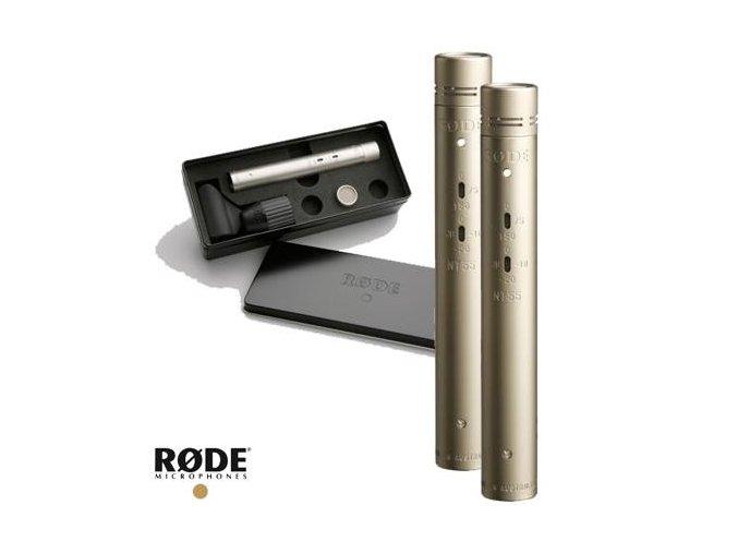 Rode NT55-MP Pár mikrofonů, dvě vložky
