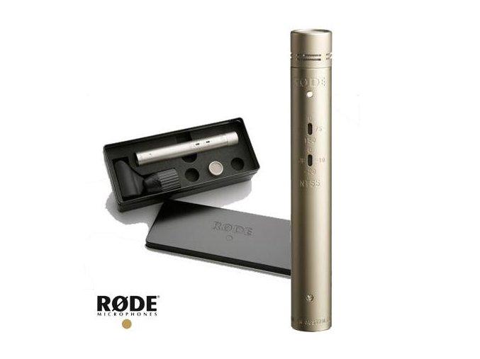 Rode NT55 Kompaktní mikrofon, dvě vložky
