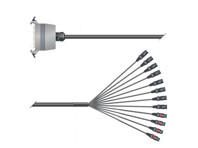 Sommer Cable PC Isopod 2x0,22qmm, 2,00m, Spleisskabe