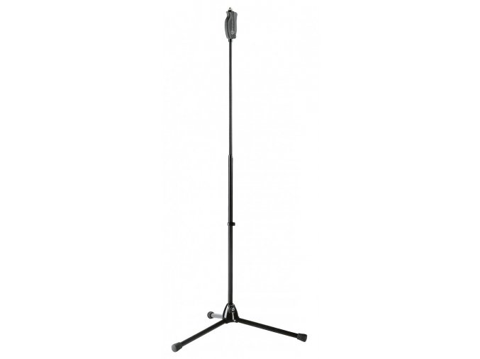 K&M 25680 One hand microphone stand black