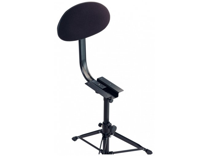 K&M 14043 Backrest black fabric
