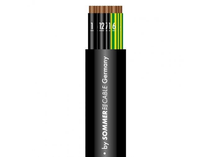 SOMMER ATRIUM FLEX BLACK Multicore, 18 x 1,5qmm