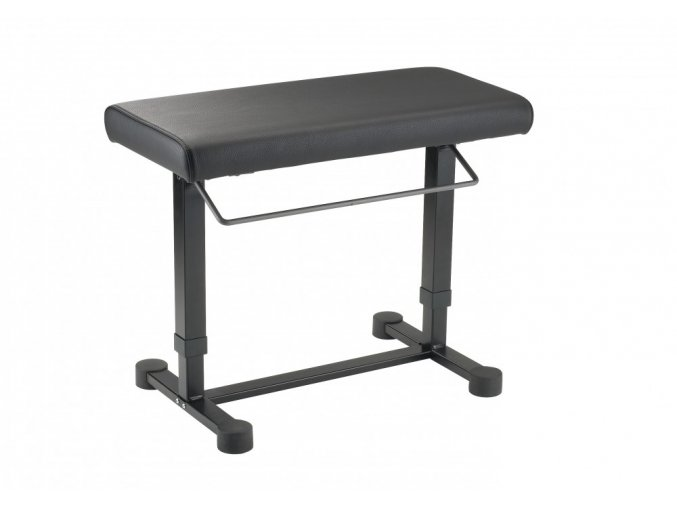 K&M 14080 Piano bench »Uplift« black leather