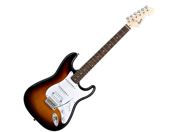 Fender Bullet Strat with Tremolo HSS, Rosewood Fingerboard, Brown Sunburst