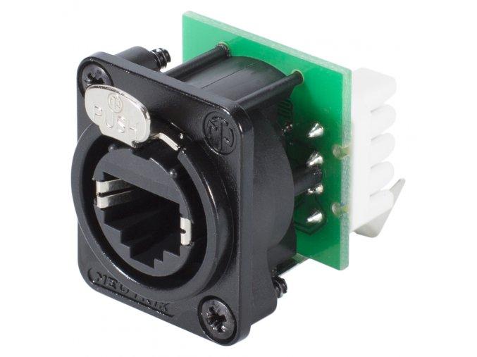 SOMMER NEUTRIK RJ45 Ethernet Einbaubuchse D-