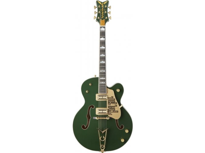 Gretsch G6136I Bono Irish Falcon, Ebony Fingerboard, Soul Green