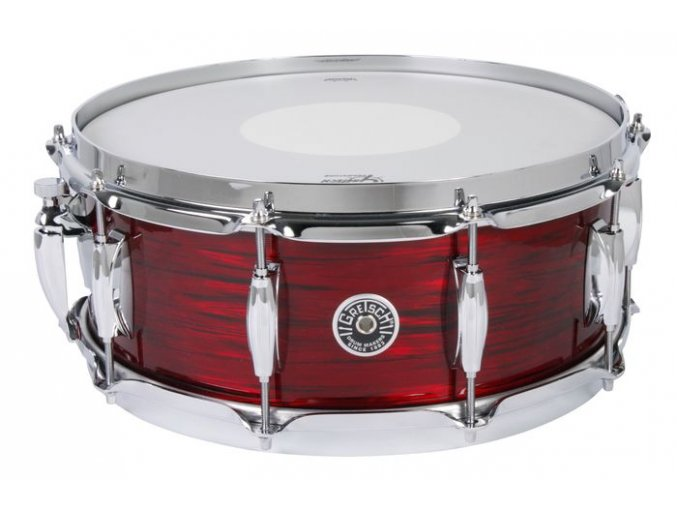 """Gretsch Wood Snare Brooklyn Series 5,5x14"""" Red Oyster Nitron"""