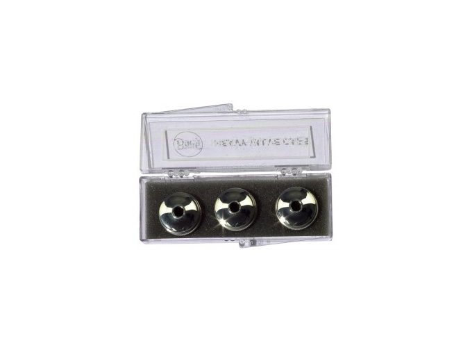 Vincent Bach Heavy Valve Caps Set silver plated
