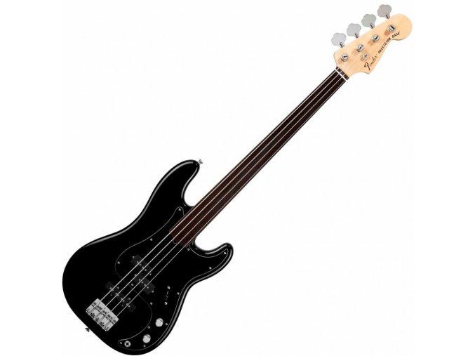 Fender Tony Franklin Fretless Precision Bass, Ebony Fingerboard, Black