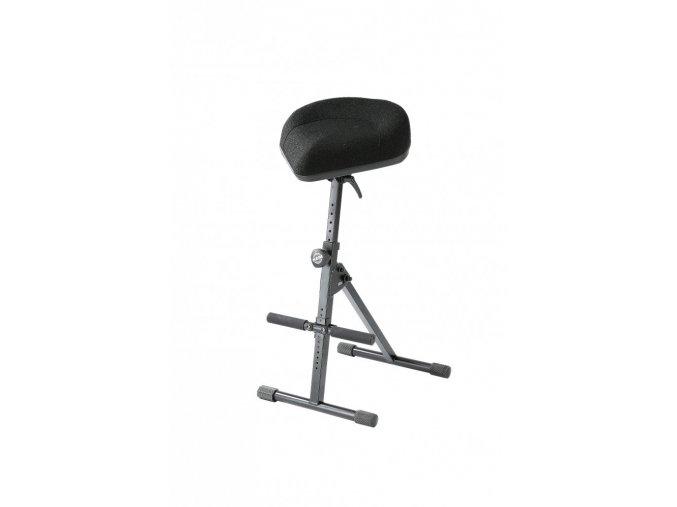 K&M 14046 Pneumatic stool black fabric