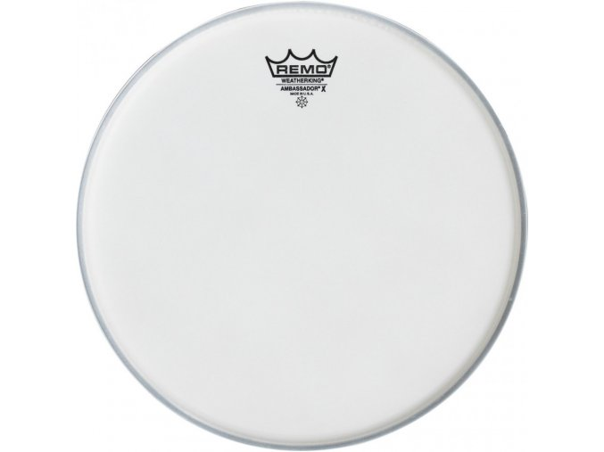 "Gretsch Logo Bass Drum Reso 24"" White Coated, Center Logo G5528PL"