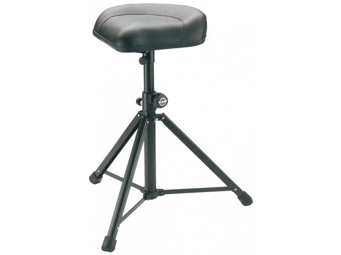 K&M 14052 Stool black leather