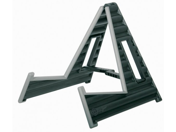 K&M 17591 A-guitar stand »Wave 10« black