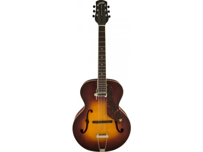 Gretsch G9555 New Yorker Archtop Guitar with Pickup, Semi-gloss, Vintage Sunburst