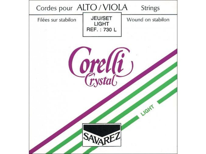 Corelli Strings For Viola Crystal Light