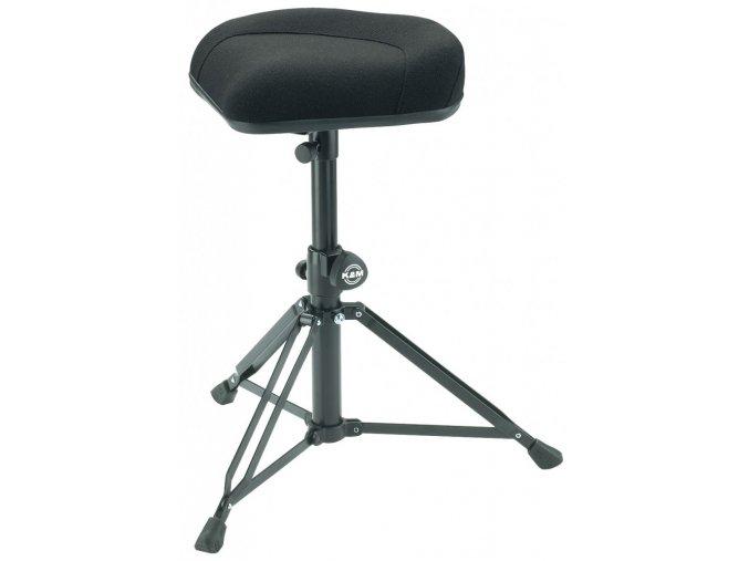 K&M 14056 Drummer's throne »Nick« black fabric