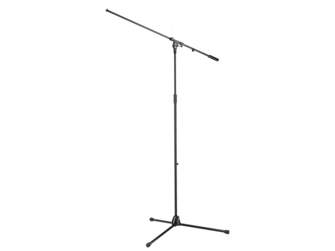 K&M 21021 Overhead microphone stand black