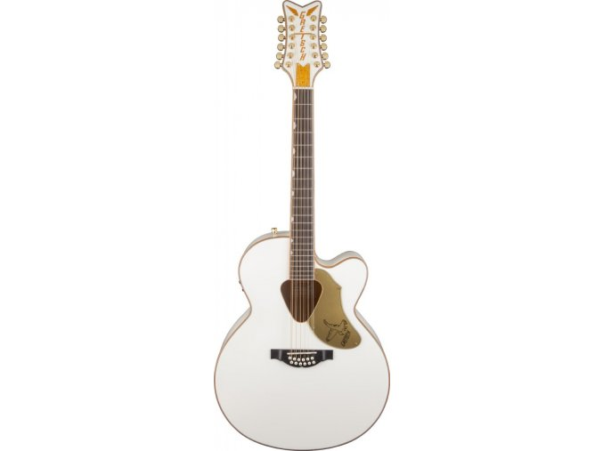 Gretsch G5022CWFE-12 Rancher Falcon Jumbo 12-String Cutaway Electric, White